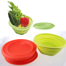 RENJIA microwave reheatable container,foldable food container,fruit ripening bowl