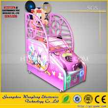 Mini shooting arcade game machine,Indoor arcade hoops cabinet basketball game for kids, basketball shooting gun machine