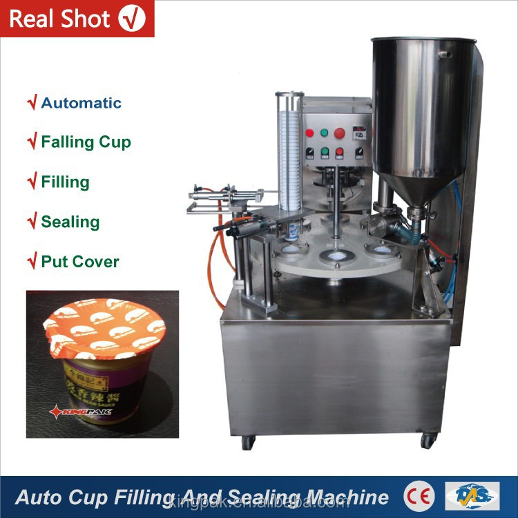 KIS900 Automatic Rotary Cup Filling Sealing Machine