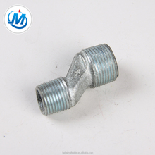 150# Hot Dipped GI Malleable Iron Pipe Fitting Quick Coupling Eccentric Reducing Jiont Male Nipple