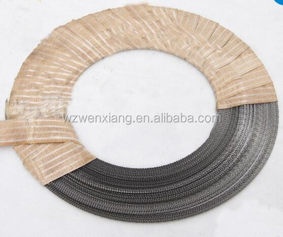 Wood processing mini band saw blade with coil and teeth bamboo cutting tools