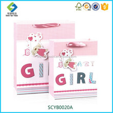 New product Good Quality Handcraft Gift Paper Bag For Baby