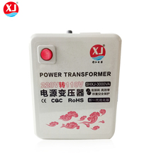 2000w 220v to 110v step down power voltage converter