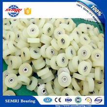 Small Plastic Ball Bearing Pulley Wheel, Nylon Coated Ball Bearing for Sliding Door and Windows Roller Pulley 626 608