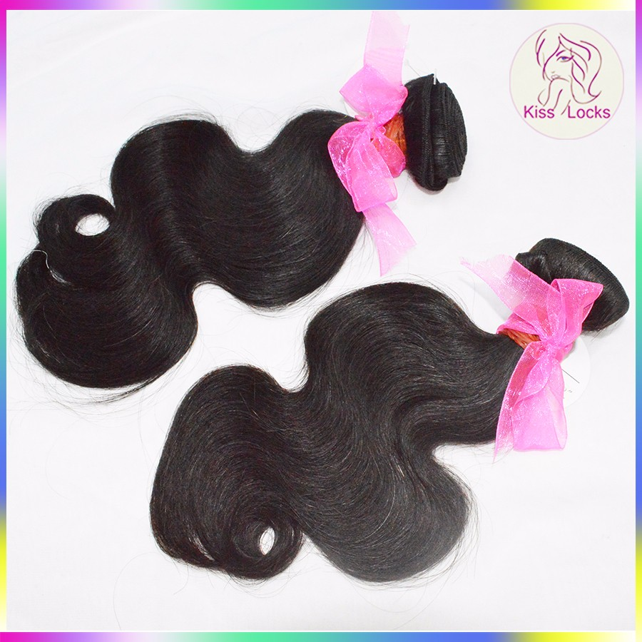 Popular Hairstyle Full Cuticle Virgin Human Hair 10A Body Wave Malaysian Wavy Bundles Fast Shipping