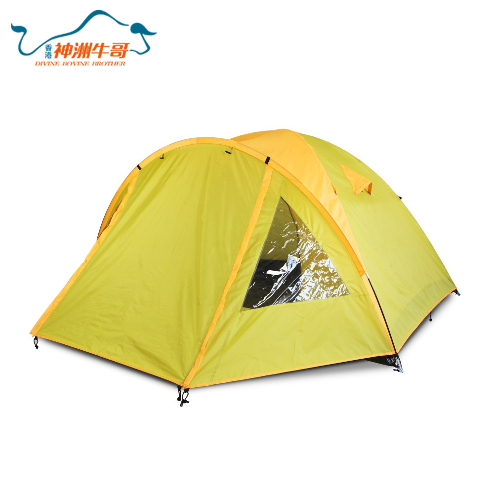 Many People Large Outdoors Waterproof Camping Tent