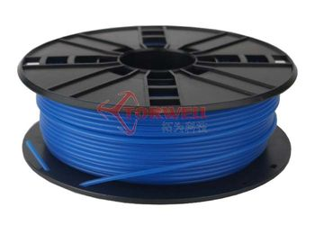 Dark Luminous Blue ABS/PLA Filament Materials , Leapfrog Reprap 3D Printer Filament