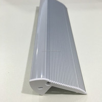 Various kinds of YPR6628/7026/4538 Stair mounted LED Aluminium Profile for staircase cinema
