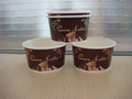 ICE CREAM CUP,Disposable icecream paper cups with lids,Ice cream cup supplier