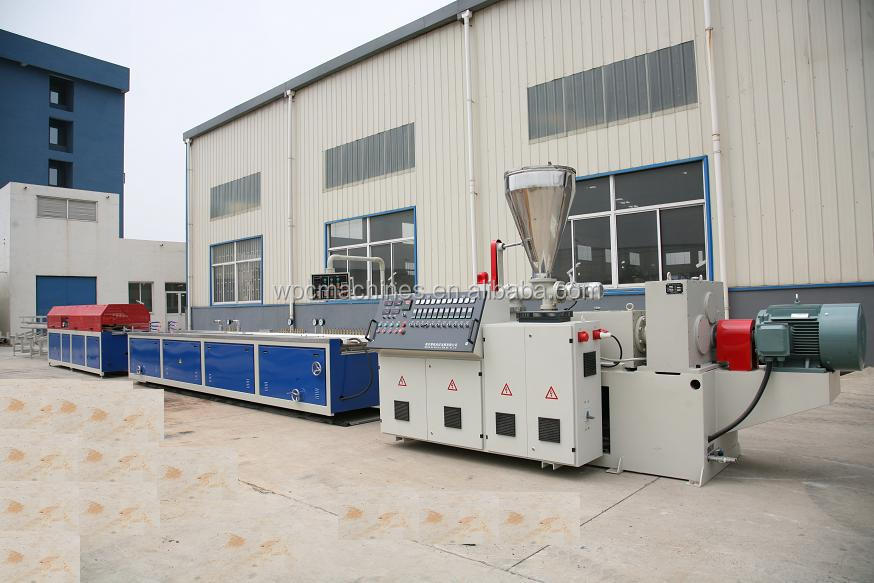 PVC Exterior Wall Siding Panel Profile Extrusion Machine