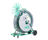 Lifa Hydmaster 40, air duct cleaning brushing machine, rotating shaft cleaning equipment