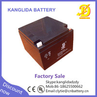 12v UPS battery 12v 24ah deep cycle solar battery manufucturer in China