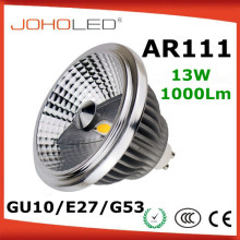 Aluminiu dimmable es111 gu10 led 12v gu10 led cob AR111 led 15 watt gu10 led lamp
