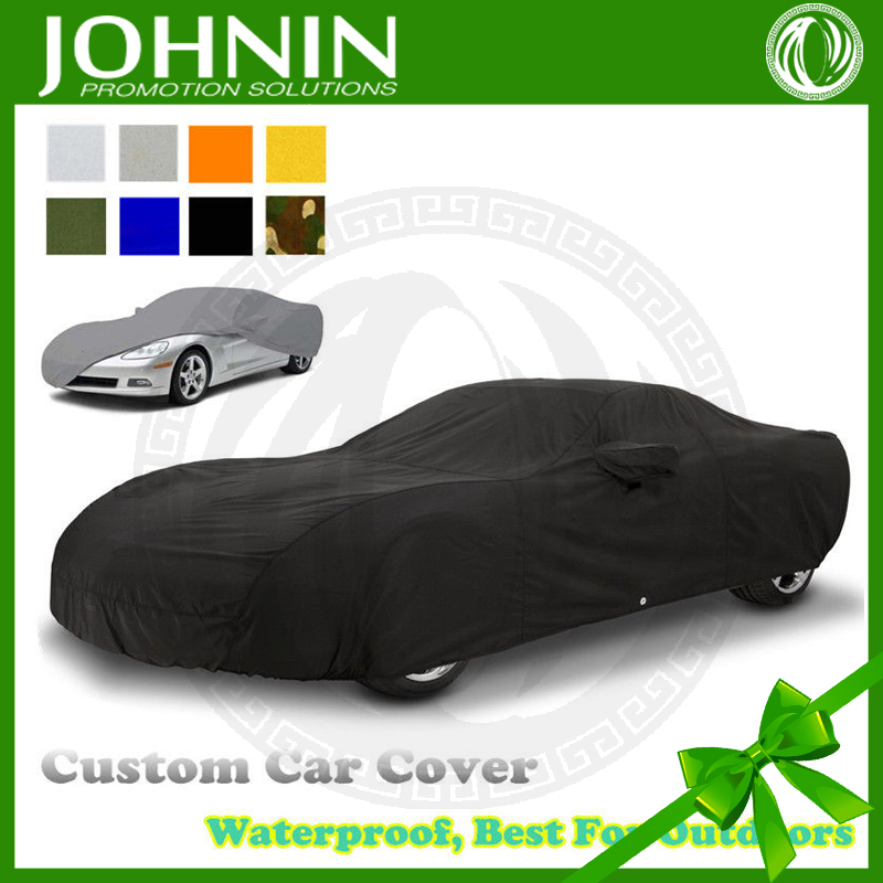 OEM sun protection 4-sides stretch custom folding car cover
