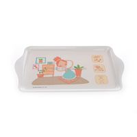 Small Melamine Breakfast Tray For Kids