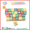 27pieces ABC Learning Wooden Educational Blocks for children over 3 years old