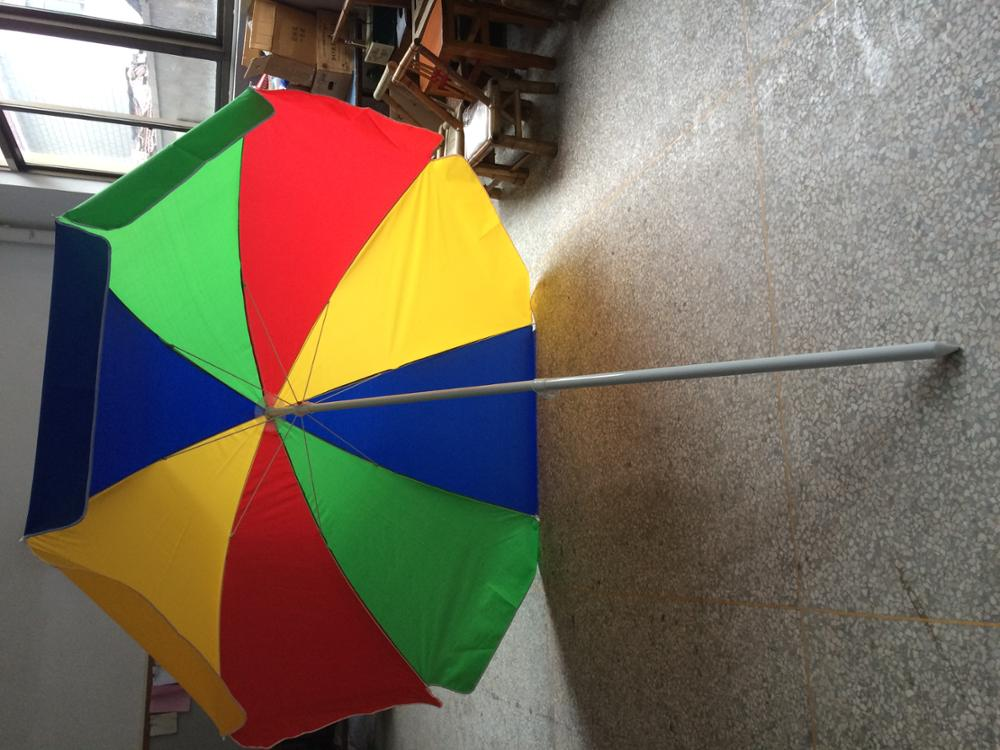 240cm*8k oxford high quality watermelon beach umbrella promotional beach umbrella