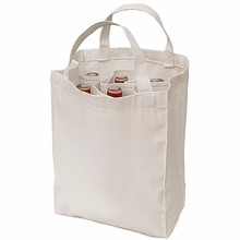 custom cotton canvas tote package wine bottle bags