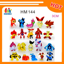Hot Sale Cute Mini Pokemon Toys Cartoon Action Figures Pokemon Pocket Monster