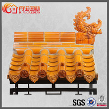 traditional flat roof sheds traditional Chinese dragon roofing supplies glazed clay roof tiles