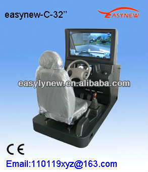 Easynew Car racing game machine for driving learner