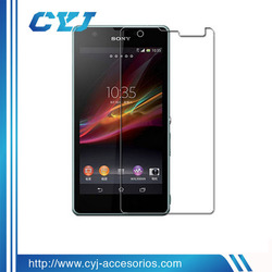 premium ultra clear 100% transparency screen protector for sony xperia v lt25i
