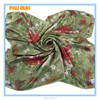 Hangzhou flower digital printed 100% silk square 2014 ladies fashionable scarf