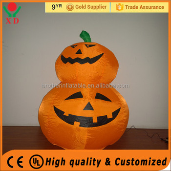 2016 Hot Sale halloween inflatable model Lighted Inflatable Decorations pumpkin