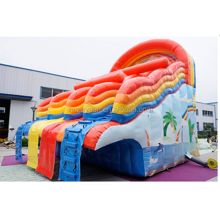 inflatable slip and slide / inflatable water slide for kids and adults