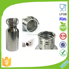 Sports Water Bottle Stainless Steel Wide Mouth BPA Free 500ml