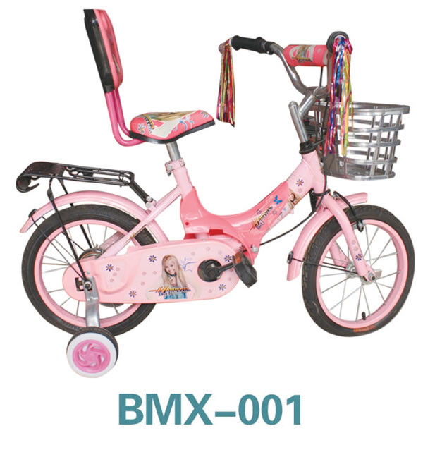 "12"" 14"" 16""18""Pink beach cruiser children bike with basket from China factory"