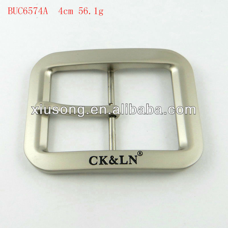 BUC6574 customized silver jeans belt pin buckles wholesale