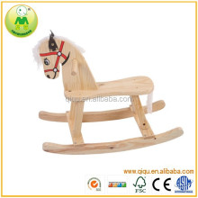 2014 popular kid riding wooden horse eco friendly kids toys