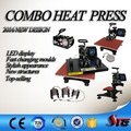 LCD 8 in 1 Sublimation Machine 8 in 1 Heat Press