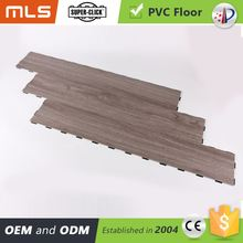 Hot Product No Formaldehyde Easy Lock Pvc Pattern Medallion Floor Tiles