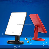 led makeup mirror / table dressing mirror/desktop mirror with led illuminated
