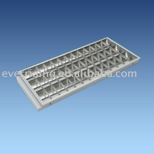 Grille fitting, lighting fixture