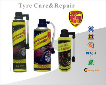 Tyre Emergency Puncture Repair fire extinguisher
