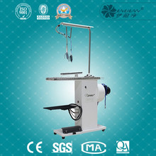 commercial laundry steam dry cleaning spot/stain removing spotting table