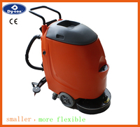Electric Manual Floor Scrubber,Water Work Equipment with big tank. FS17F