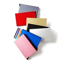 Wedacrafts New Model colors RFID Credit Card Holder Case