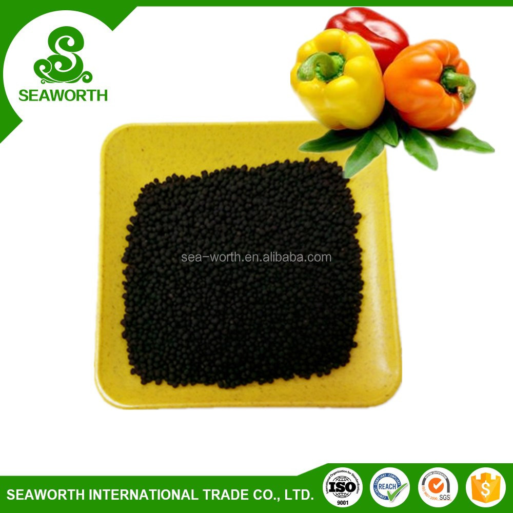 Hot sell plant granular fertilizer black urea