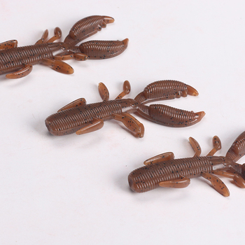 Wholesale Double Tail Grub Soft Fishing Lure