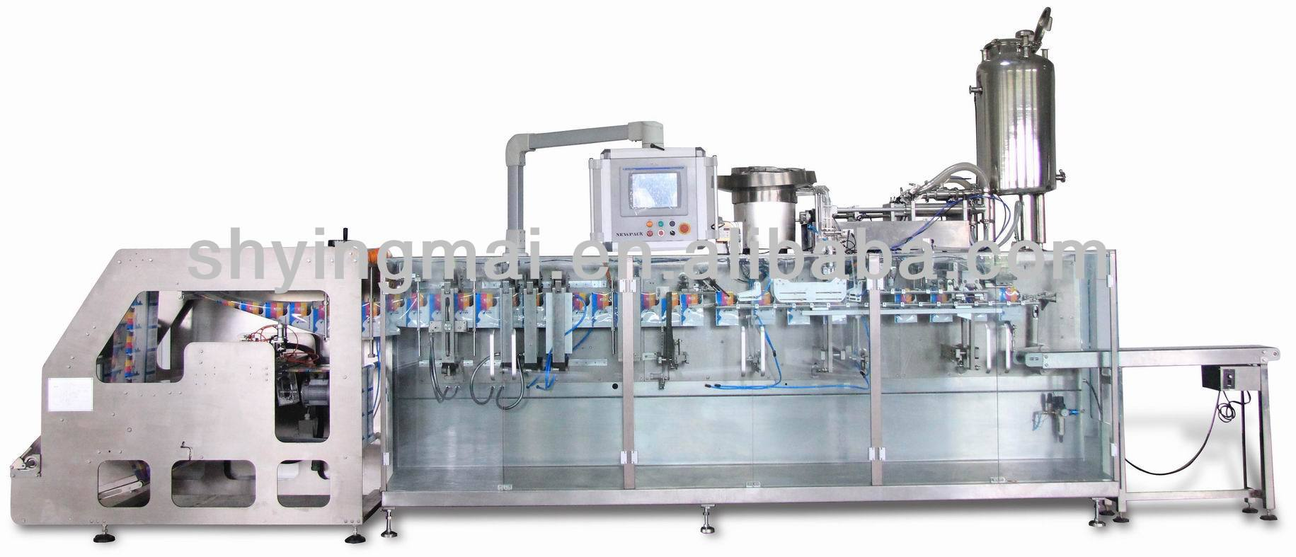 horizontal form fill seal Durable in use doypack packaging machine