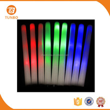 Guangzhou custom best selling LED glow foam light stick