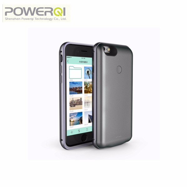 Battery phone case qi receiver 32G OTG protective phone case