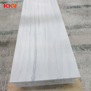 New design acrylic resin artificial stone solid surface slab duvar panelleri
