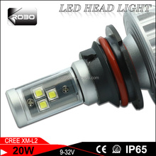 Wholesales price good quality vision led auto lame with 20W/30W for ford mondeo headlight