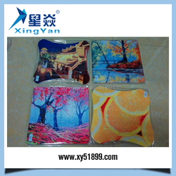Wholesale custom diy 3d photo puzzles/childrens puzzle