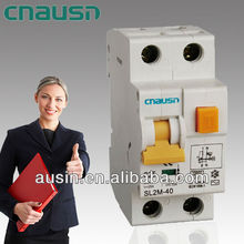 SL2M-40 ( FL7 ) 1P+N earth leakage circuit breaker for overload protection and personal safety by the earth leakage